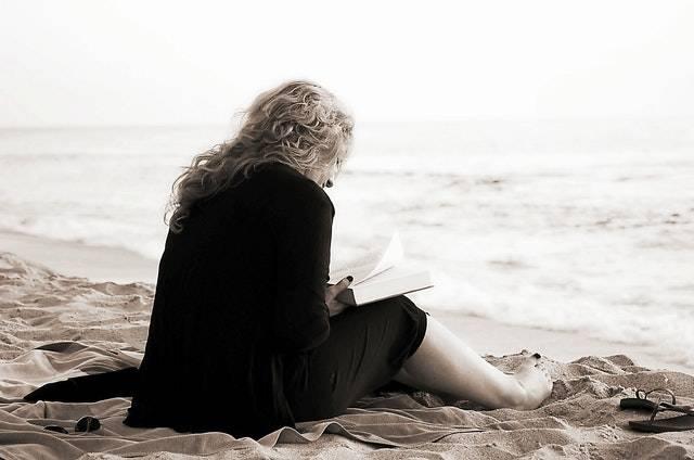 Reading on vacation Sanibel and Captiva Island