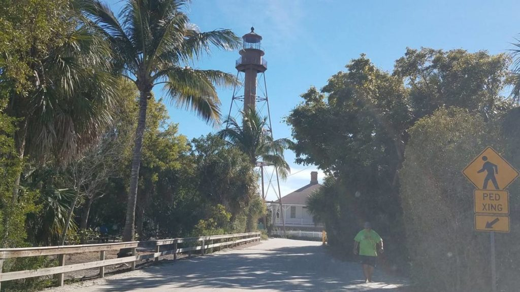 overview of sanibel island lighthouse
