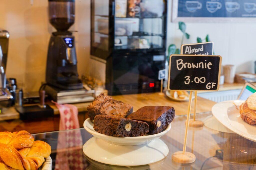 bake shop display