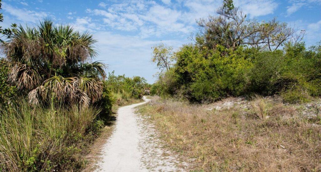 Hiking Trail in Sanibel Island