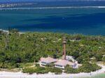 sanibel island aerial view
